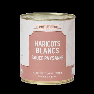 Haricots blancs - sauce...