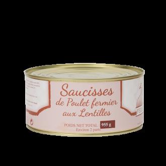 Saucisses de Poulet Fermier...