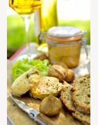 Vente de Foies gras de Canard du Lot entier, Mi-cuit, bloc